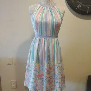 ModCloth Lavender Halter Dress